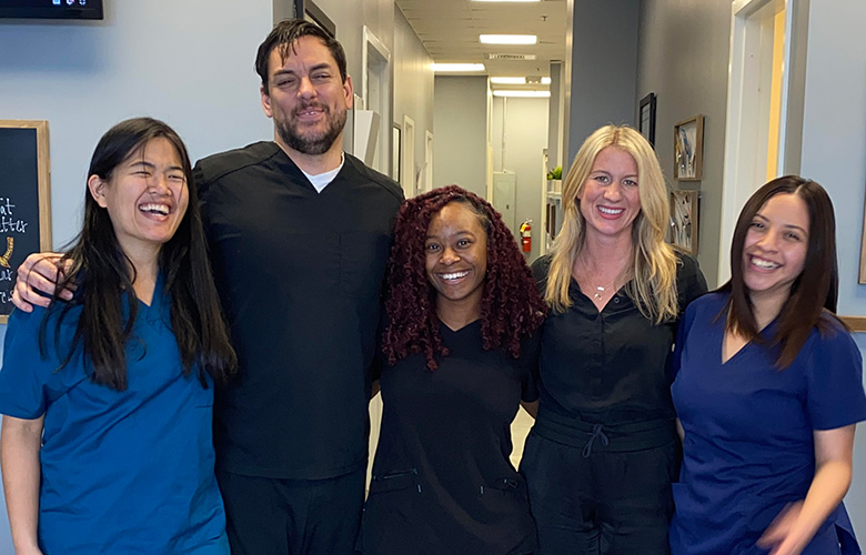Chiropractor Peachtree Corners GA Dr. Esther Widjaja With Team